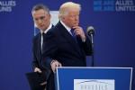 Le Secrétaire de l'OTAN, Stoltenberg, et Donald Trump ont de plus en plus de mal à convaincre les États européens sur l'OTAN, à suivre avec l'ouverture du sommet la semaine prochaine (Crédits : Jonathan Ernst/ Reuters)