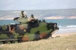 L'un des 19 AAV-7A1 en service au sein de l'infanterie de marine espagnole (Crédit photo: Marine espagnole)