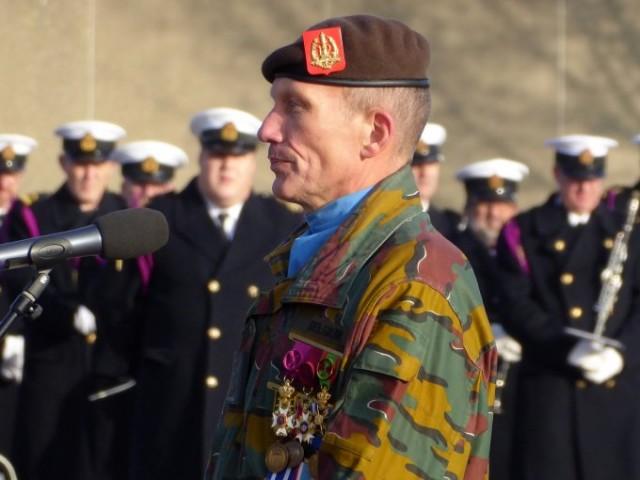 Le colonel BEM Jean-Louis Crucifix, commandant de la Brigade Motorisée (Photo : Forces Operations)