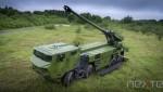 Le canon automoteur CAESAR, bientôt aux couleurs danoises (Crédit: Nexter)