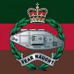 Le blason du Royal Tank Regiment