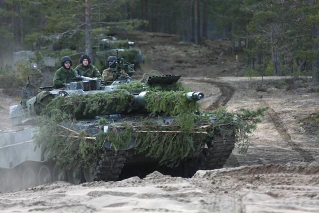 Un Leopard 2A6 des Forces de défense finlandaises (Crédits photo: Forces de défense finlandaises)