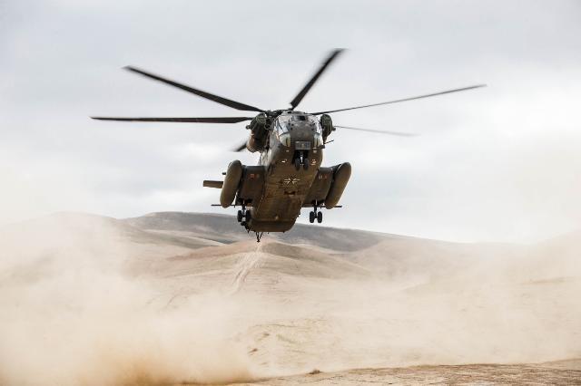 L'un des 70 CH-53 de la Luftwaffe, ici déployé en Afghanistan (Crédit: Bundeswehr/Jana Neumann)
