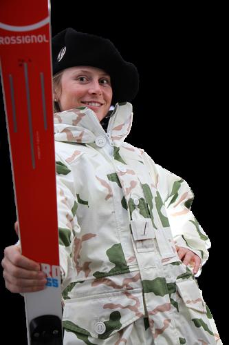 Le sergent Tessa Worley, championne du monde du slalom géant (Crédit photo: Equipe de France militaire de ski)