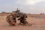 Le missile MMP déployé au sein de l'opération Barkhane. Ici opéré en mars dernier par le groupement tactique désert Bir-Hakeim  lors d'une opération majeure dans la zone des « trois frontières » (Crédit photo: EMA/Ministère des Armées)