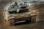Un char de combat Leopard 2A6 de la  Heer allemande (Crédit: Bundeswehr/Sebastian Wilke)