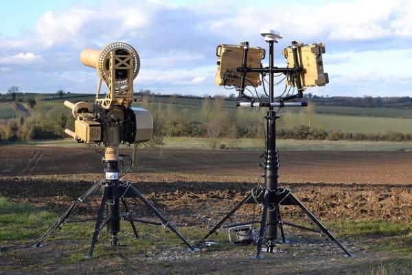 Le système anti-drones AUDS (Crédit photo: Blighter Surveillance)