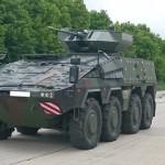 Le prototype de Vilkas destiné à la Lituanie (Crédit photo: ARTEC)