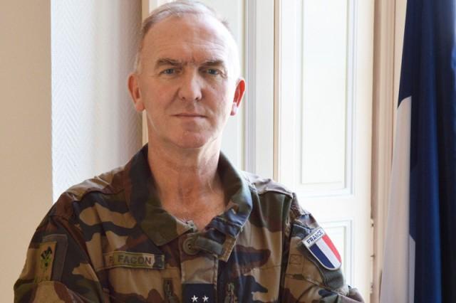 Le général de division Pascal Facon, commandant du CDEC (Crédit: Ministère des Armées)