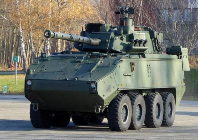 Le Piranha IIIC DF90 est le véhicule de combat le plus puissant de l'armée belge depuis le déclassement de ses Leopard 1A5 (photo: Forces Operations)