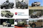 Les huit véhicules évalués l'an dernier par le MoD slovaque (Crédit: Ministère de la Défense de Slovaquie)