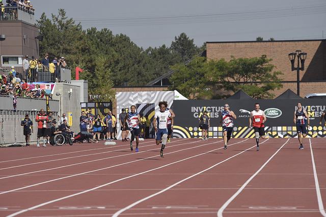 Mayali mène le 100m (credit photo: IG2017)