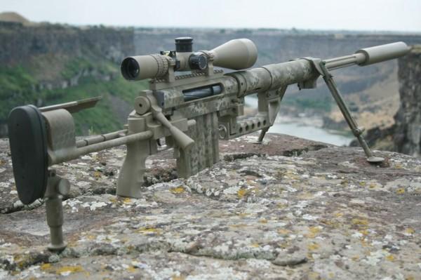 Le fusil de précision CheyTac M200 Intervention de calibre .408