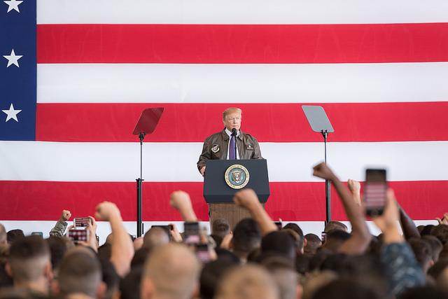 Donald Trump considère la Chine et la Russie comme des adversaires