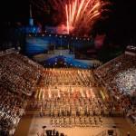 Le grand final de l'édition 2009 du festival de musique militaire d'Edimbourg (Crédit photo: Mark Owens)