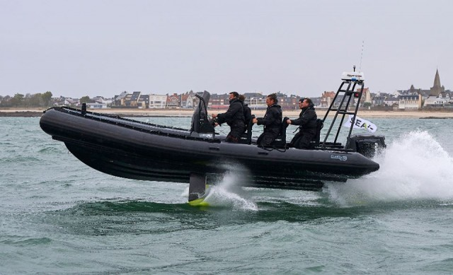 L'AirShark 765 conçu en coopération avec Sillinger (Crédit: SEAir)