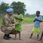 Le général de corps d'armée Ahmed Maqsood, conseiller miliaire de la DPKO pour la MISCA, le 6 juillet 2014. Photo UN/Catianne Tijerina
