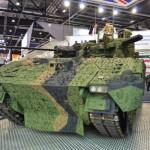 L'Ajax de GDUK, dévoilé durant le salon DSEI 2015 à Londres (Crédit: Forces Operations Blog)