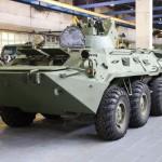 La chaîne de production du BTR-82A (Crédit photo: Vitaly V. Kuzmin)