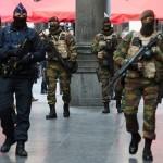 Près de 9000 hommes et femmes ont sécurisé les rues de cinq villes belges en 2015