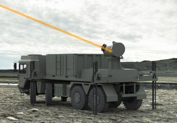 Voilà à quoi pourrait ressembler l'arme laser développée par UK Dragonfire