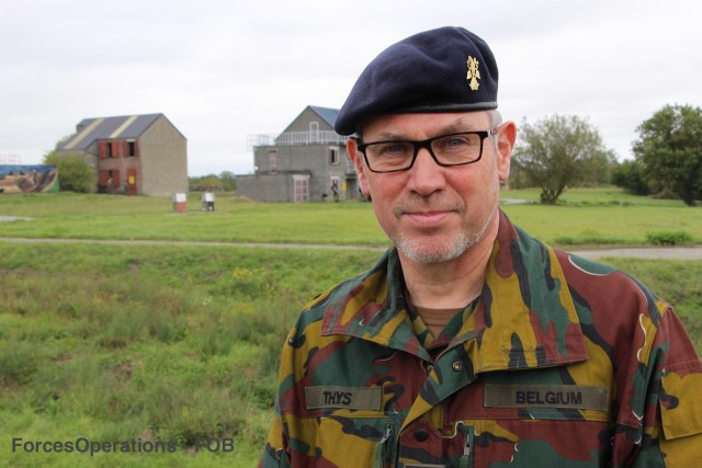Le général Marc Thys, actuel commandant de la Composante Terre belge