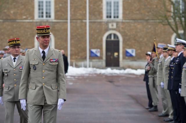 Le général Olivier Bonnet de Paillerets, COMCYBER depuis le 1er septembre 2017 (Crédit photo: COMCYBER/ Ministère des Armées)
