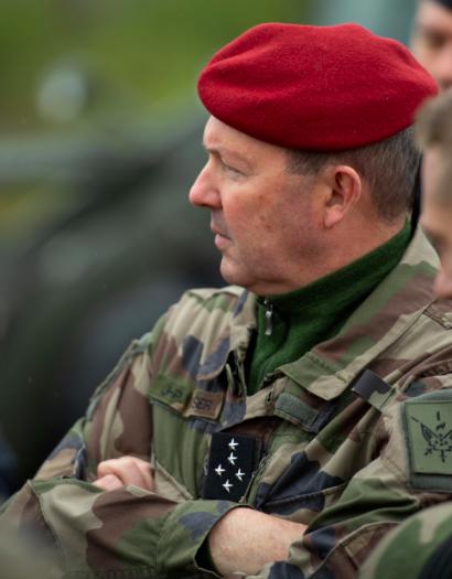Le général Jean-Pierre Bosser, chef d'état-major de l'armée de Terre (Crédit: Twitter/@CEMAT_FR)