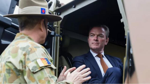 Christopher Pyne, ministre australien de l'industrie de défense