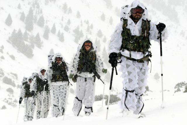 Des militaires du 64e régiment de montagne Galicia (Crédit photo: 64e régiment Galicia)