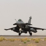 Un Rafale décolle le 8 septembre pour un première mission ISR dans l'espace aérien syrien (Crédit: ministère de la Défense)