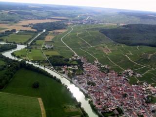 Cumières sur la Marne où les deux légionnaires se sont noyés ce matin