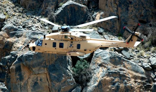 Les bons résultats français reposent notamment sur le succès du NH90, objet de récentes commandes de la part de l'Espagne et du Qatar (Crédit photo: Airbus Helicopters)