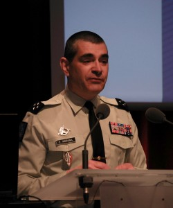 Le générale de corps d'armée Eric Margail (crédit photo: Armée de terre/SLT Cindy Vuillemin