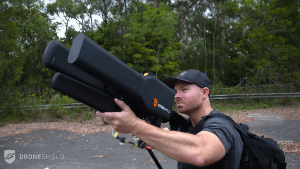 Le DroneGun développé par DroneShield (Crédit photo: DroneShield)