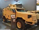 L'ARX20 intégrée au véhicule blindé de transport de troupes Panthera F9 de MSPV