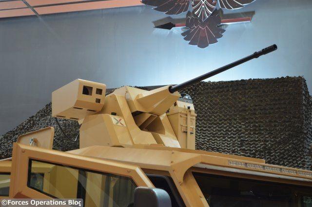 Le tourelleau téléopéré de calibre 20 mm ARX20 de Nexter Systems