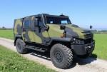 Le véhicule 4x4 Eagle V (Crédit photo: GDELS)