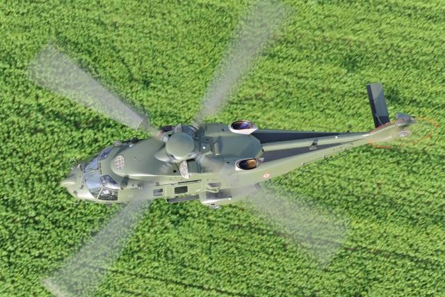 L'un des quatre NH90 TTH de la Composante Air belge (Crédit photo: A. Pecchi/Airbus Helicopters)