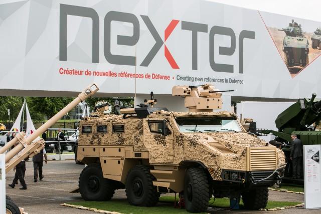 Malgré un exercice 2016 en demi-teinte, Nexter pourrait rebondir en 2017/18 (Crédit photo: Eurosatory/COGES)