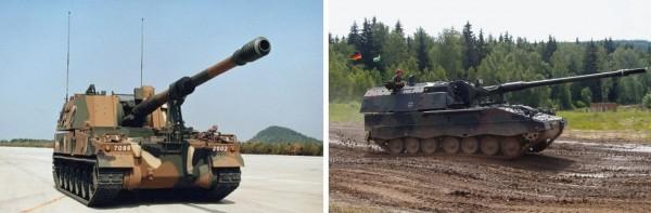 Samsung et son K9 Thunder, Rheinmetall et le PzH 2000 ont tous deux montré un intérêt pour le marché malaisien...