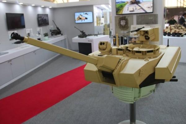 Sélectionnée pour le programme Scorpion de l'armée de Terre, la tourelle T40 est en lice pour le futur FICV indien (Crédit photo: FOB)