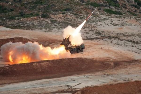 Lancement d'un missile MIM-104 Patriot allemand (Crédit photo: Bundeswehr)