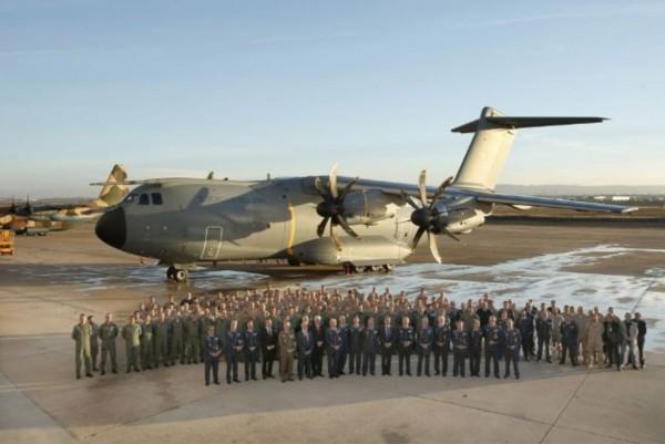 La force aérienne espagnole a récemment reçu son premier A400M, qui sera opéré par le 31 Wing basé à Saragosse (Crédit photo: Armée de l'air espagnole)