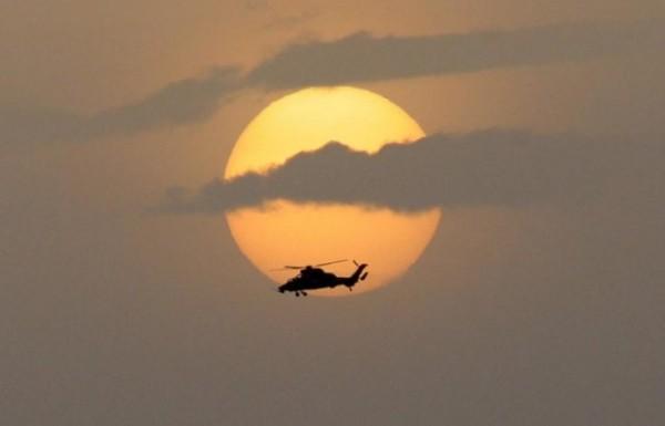 Un Tigre HAD dans le ciel djiboutien (Crédit: EMA)