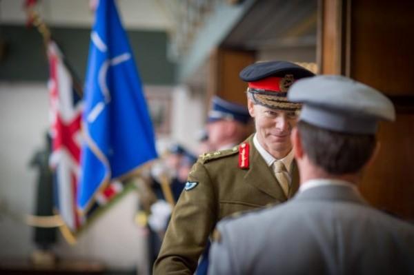 Le général britannique Sir Adrian Bradshaw, actuel DSACEUR de l'OTAN (Crédit photo:  SHAPE Public Affairs Office)