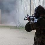 Le HK 416F testé en avant-première par la DICoD (Crédit photo:  A.Thomas-Trophime©DICoD)
