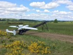 Le drone tactique LUNA NG (Crédit photo: Bundeswehr/Freiwald)