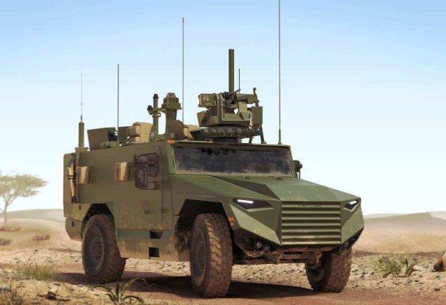 Le contrat du véhicule blindé multi-rôles léger à Nexter et Texelis