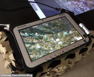 La planification peut également être suivie à distance au moyen de tablettes tactiles (Crédit photo: Nathan Gain)